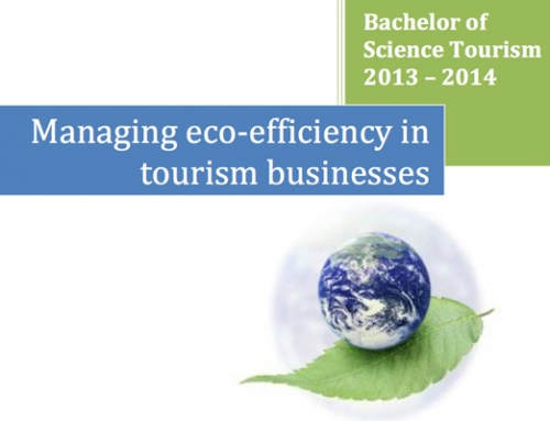Managing eco-efficiency in tourism businesses