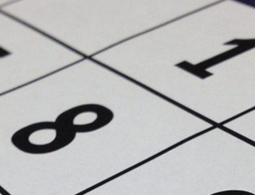 Year Calendar 2016-17