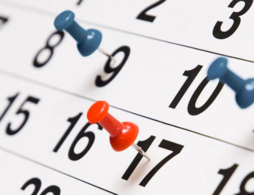 Year Calendar BSc Tourism 2019-2020