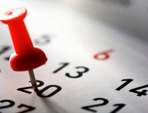 Year Calendar BSc Tourism 2018-2019