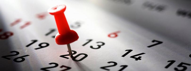 BSc Tourism year calendar