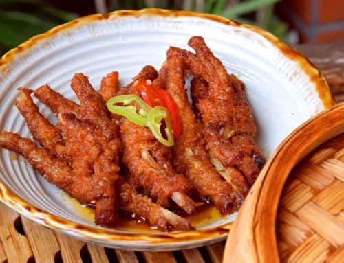 No meat? So chicken feet!